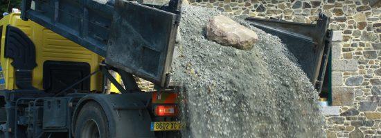 camion -Thierry Julou TP - empièrement